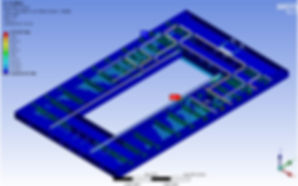 Ansys Analysis performed by TyneTec Engineering Ltd, Engineering Consultants