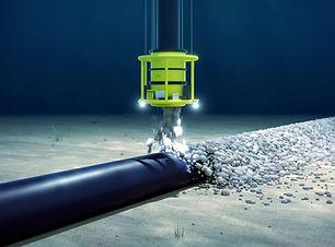 rockdumping umbilical.jpg  TyneTec Engineering Design Engineering Services