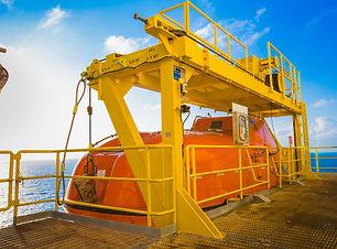 Lifeboat deployment - TyneTec Engineering design engineering services