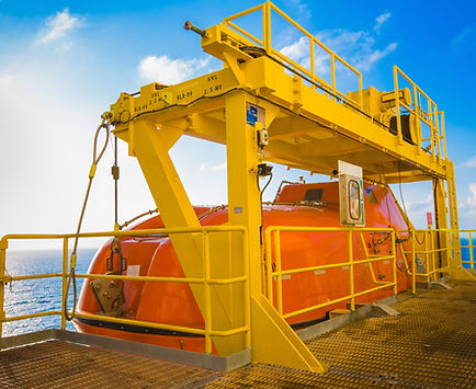 Lifeboat deployment - TyneTec Engineering Ltd - provider of design engineering services