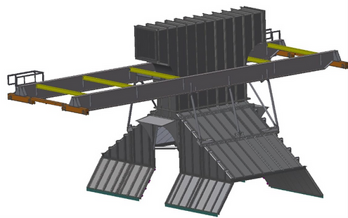 An Inventor model showing a design by TyneTec Engineering Ltd, provider of structural and mechanical engineering services.