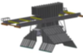 Inventor model of extraction hood designed by TyneTec Engineering Ltd - Engineering Consultants