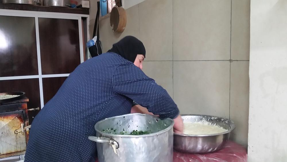 Fatiya 1 אוכל