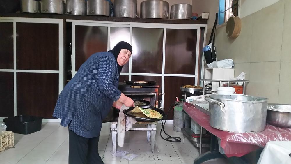 Fatiya Front אוכל