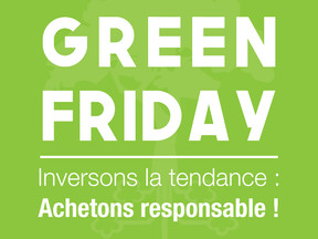 Passons du noir au vert : le Green Friday !