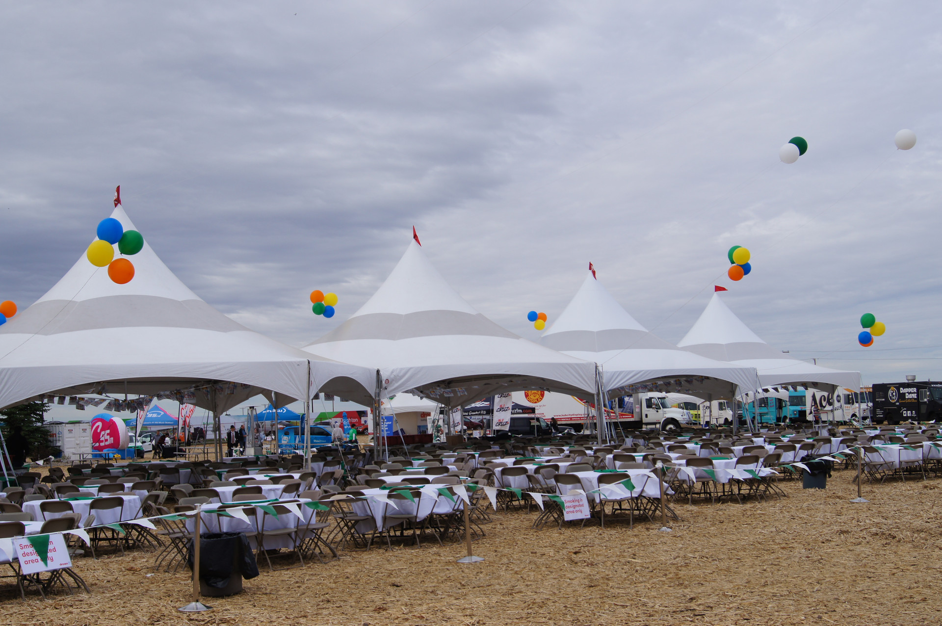 Beer gardens tents