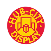 Hub City display logo