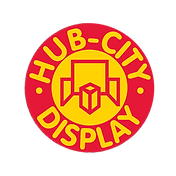 Hub City display logo