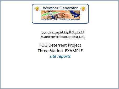 Fog Deterrent Project