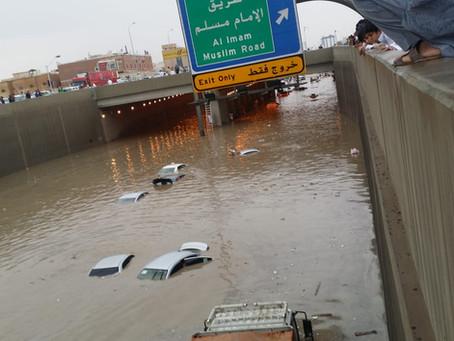 Floods don't stop in Saudi Arabia, 11/10/18