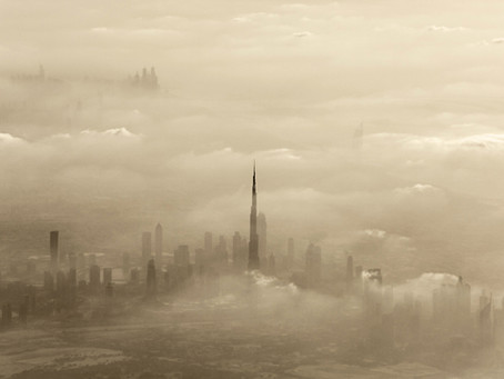 Dust storm towards UAE. Weather generator OFF effect of substitution