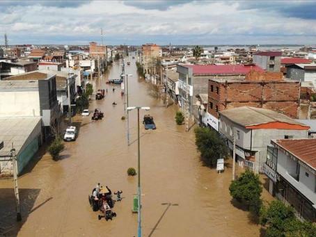 Brazil Rain Corridor brings rain to UAE & Iran