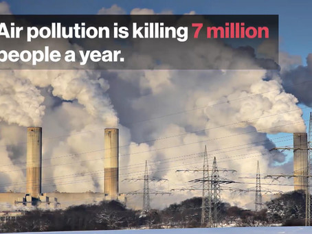 How do we clear SMOG & Air Pollution that kills 7 million people yearly !