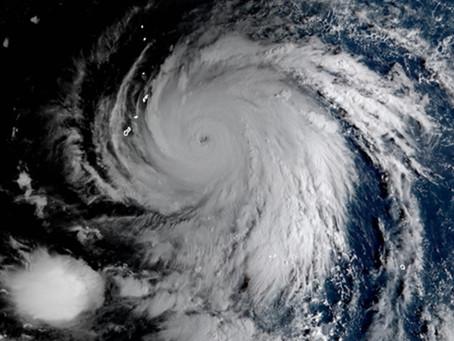 Cyclone Kyarr over the Arabian Sea