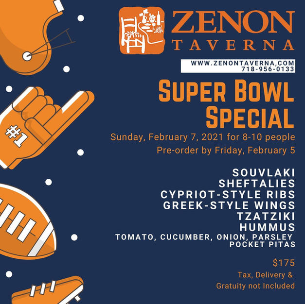 Super Bowl Sunday Special for 8-10