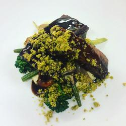 Beef short Rib - Parsnip Puree, Blistere