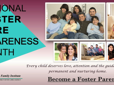 Celebrating National Foster Care Awareness Month!
