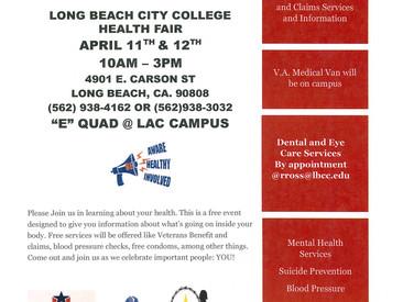Long Beach City College Health Fair