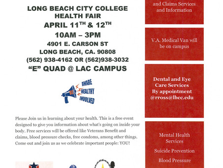 Long Beach City College Health Fair