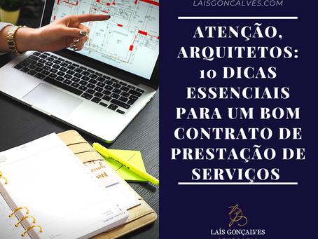 Atenção, arquitetos: 10 dicas essenciais para um bom contrato de prestação de serviços
