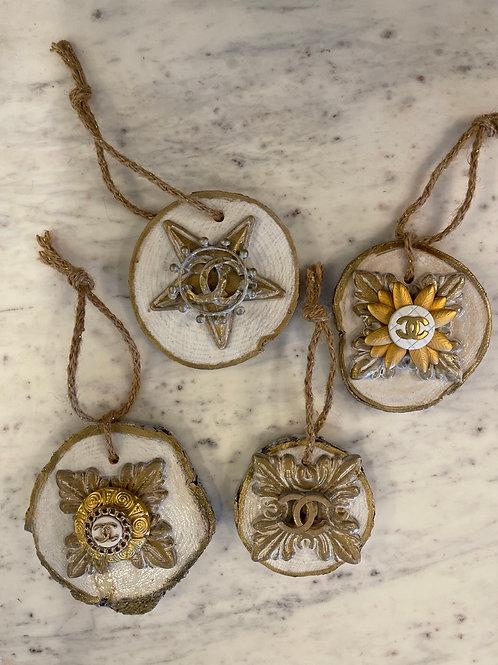 YB Wood Ornaments