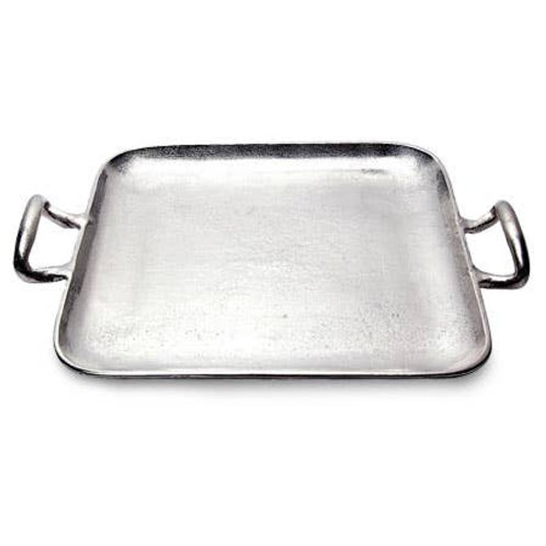 W&A Texture Square Handle Tray