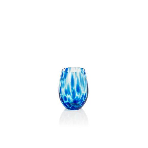 SEA BUBBLE Stemless Glass - Set of 4- IT
