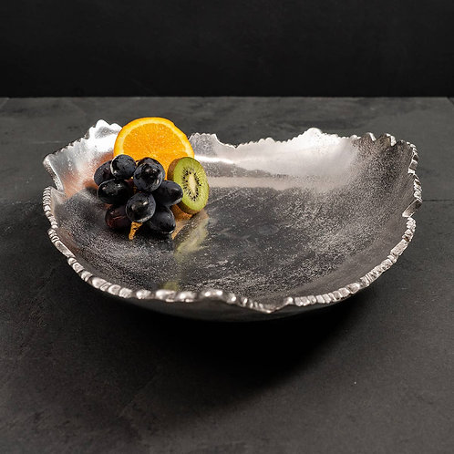 Silver Torn Tray