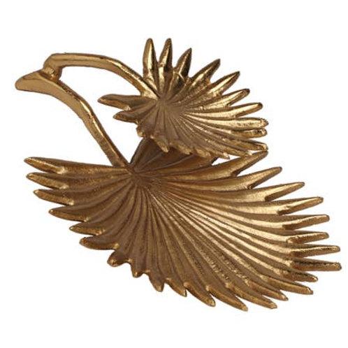 Gold 2-Leaf Plate