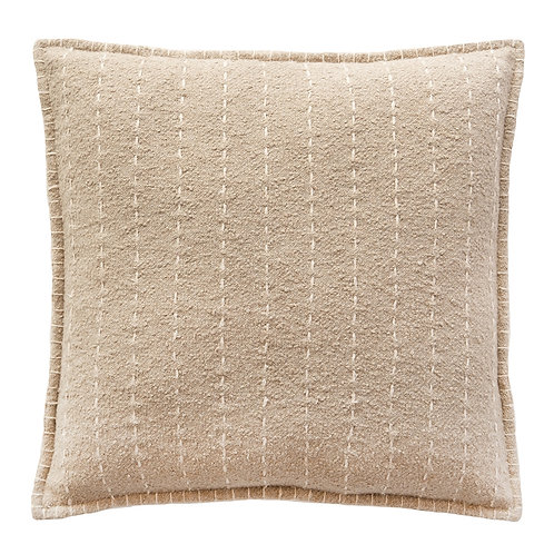 Hand Quilted Stripes Cotton Pillow