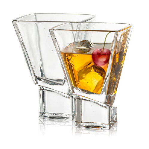 Carre Martini Cocktail Glasses (set of 2)