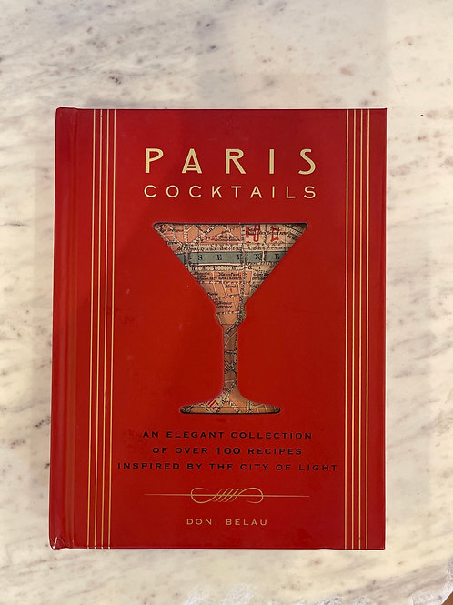 Paris Cocktail book
