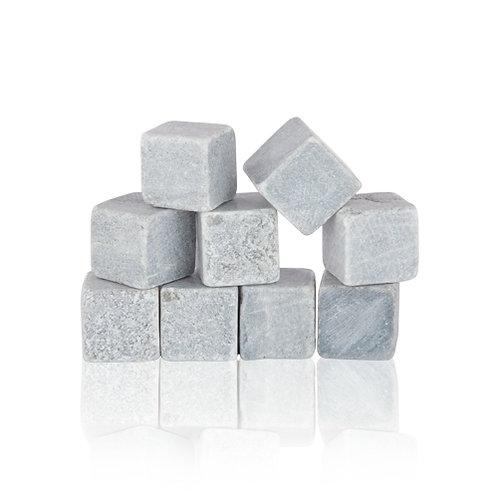 Glacier Rocks®: Set of 9 Soapstone Cubes