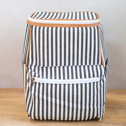 Sailor Striped Backpack Cooler
