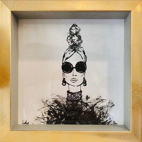 LoLo Original Art - Laurens Lady