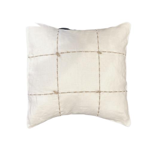 Mini Pillow with Hemp Knot