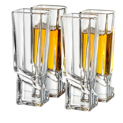 Carre Shot Glasses (set of 4)