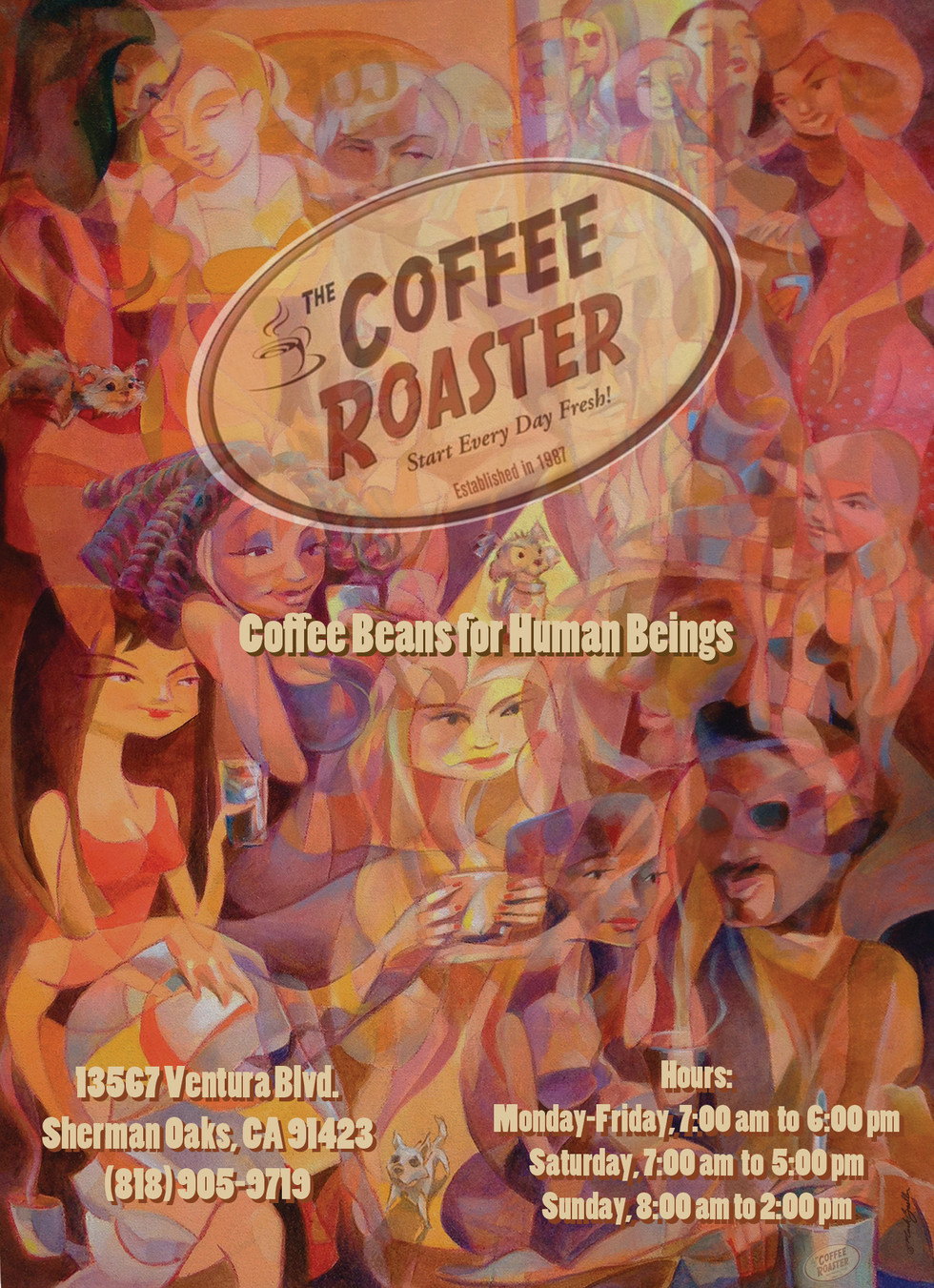 Coffee Roaster Offical Ad