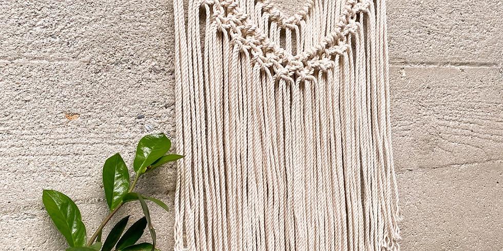 Beginners Macrame Wall Hanging Workshop