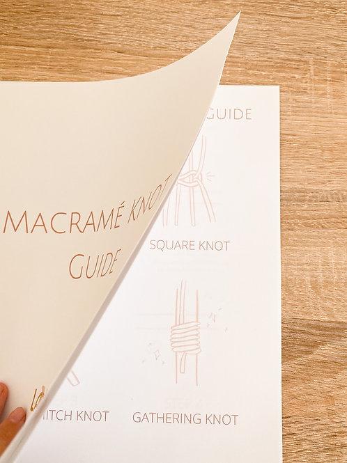 Macrame Knot Guide PDF