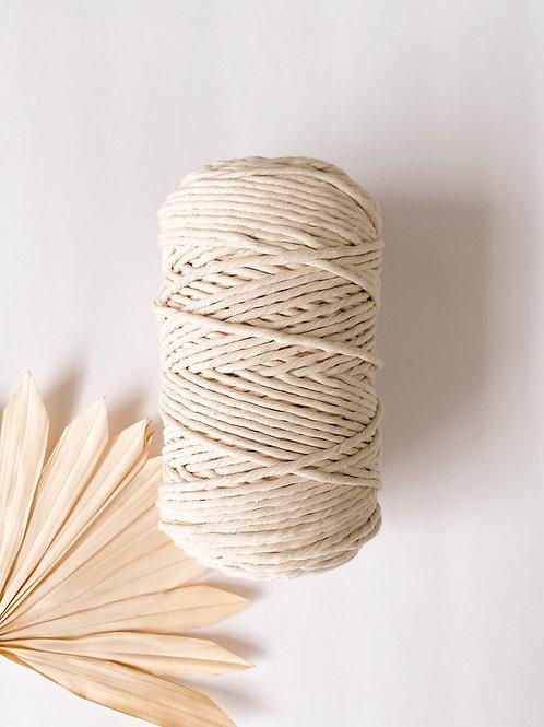 Half Spools- 3mm Supersoft Single Twist Cotton String