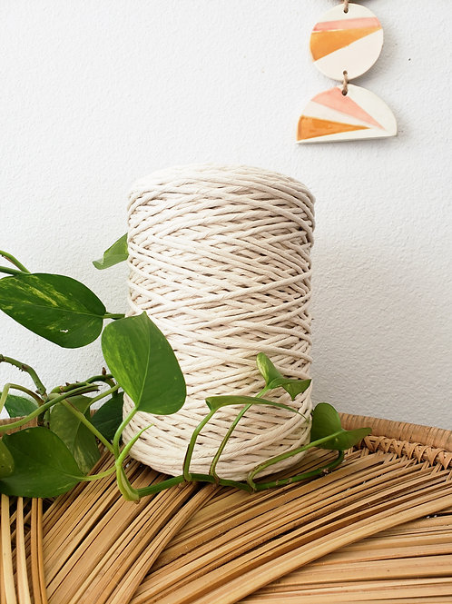 3mm Supersoft Single Twist Cotton String