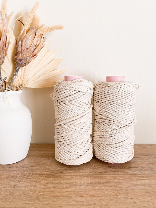 Soft Cotton Rope - Half Spools