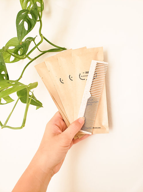 100% Biodegradable Touch-Up Combs