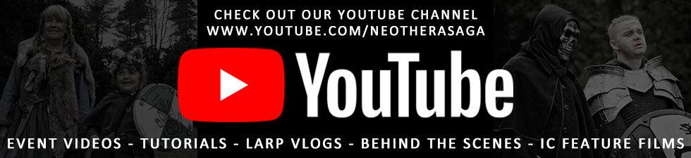 UK LARP YouTube Neothera Saga Exeter Devon