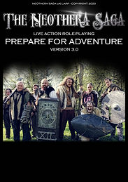 UK LARP Neothera Saga Prepare for Adventure