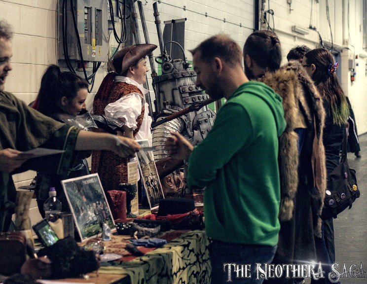 Exeter Film & Comicon 2017 Devon Neother