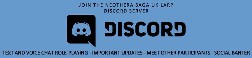 UK LARP Discord Neothera Saga Exeter Devon