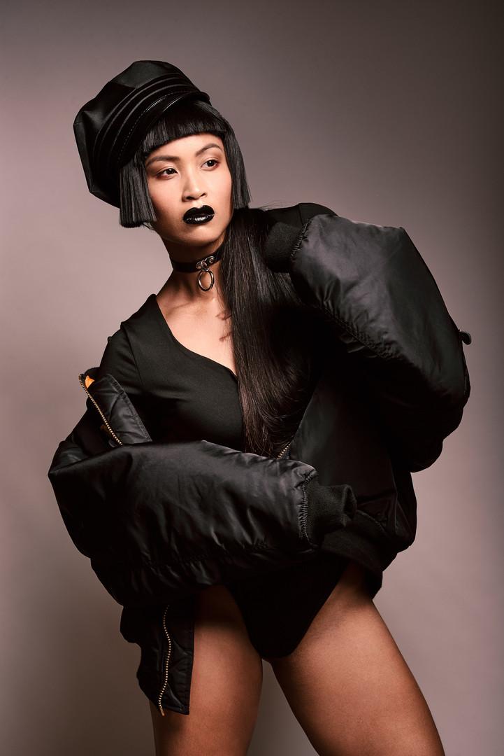 Photo Rodolphe Huignard Model Flo Nguyen MUA / Stylism Johanna Monti Bombers SEIGI HEROES Hair Fabrice
