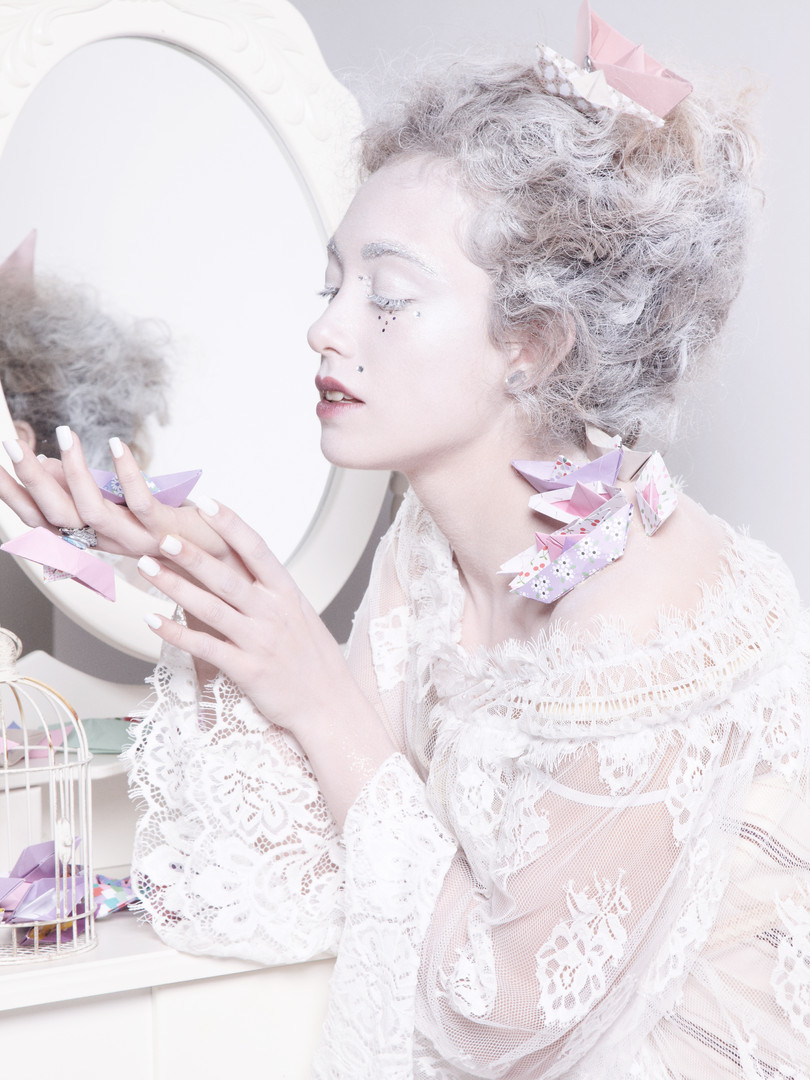Photo Eric Ancel Model Elia Oldeman MUAH & Stylism Johanna Monti